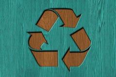 回收标志3d 免版税库存图片
