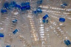 回收的使用的塑料瓶 库存图片