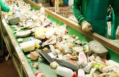 回收的废物 免版税库存图片