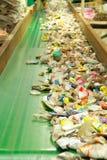 回收的废物 库存图片