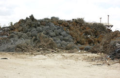 回收的报废电汇 免版税库存照片