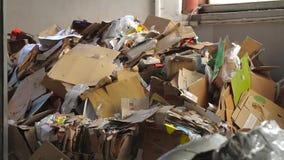 回收的纸和Carboard大工厂 股票录像