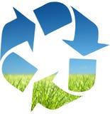 回收符号 免版税库存照片