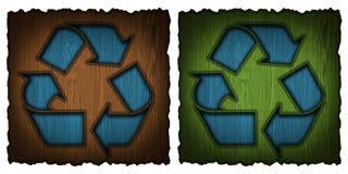 回收符号 库存照片