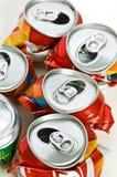 回收罐子 免版税库存图片