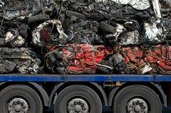 回收运输的汽车 免版税库存图片