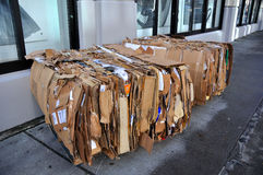 回收都市 免版税库存图片