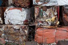 回收金属 免版税图库摄影