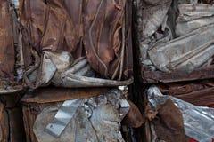 回收金属 免版税库存照片