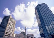 回教伊斯坦布尔现代性 免版税图库摄影