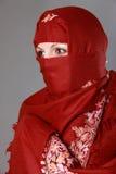 回教传统妇女 库存图片