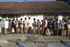 回教在印度尼西亚 库存图片