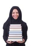 年轻回教女学生 免版税图库摄影