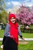 回教妇女在加拿大 免版税库存图片