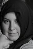 回教妇女 免版税图库摄影