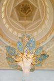 回教族长扎耶德Grand Mosque的装饰 免版税库存图片