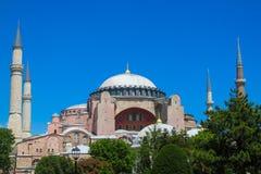 回教清真寺在土耳其 免版税库存照片