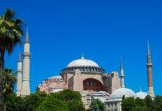 回教清真寺在土耳其 免版税库存图片