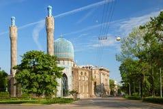 回教清真寺彼得斯堡st 免版税库存照片