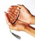 回教祈祷 免版税库存照片