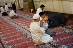 回教祷告 库存图片