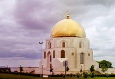 回教采纳的一座美丽的纪念碑的照片  免版税库存图片