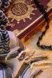 回教-圣洁古兰经-古兰经 库存照片
