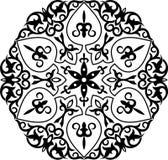 回教pattern1 库存例证