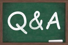 回答问题 免版税库存图片
