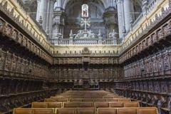 因为它包括14,唱诗班是一个最大在西班牙 免版税图库摄影