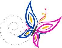 因为背景黑色蝴蝶能cmyk颜色设计要素徽标略写法模式设置使用 库存例证