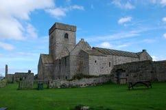 因奇科姆岛修道院 库存照片