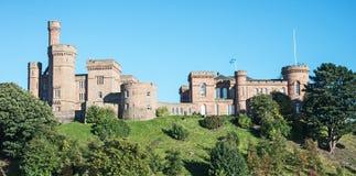 因弗内斯城堡 免版税库存照片
