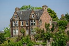因弗内斯,苏格兰- 2013年6月08日:大厦在因弗内斯,苏格兰 库存照片