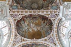 因斯布鲁克大教堂,奥地利 免版税库存照片
