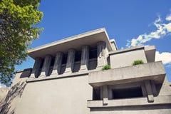 团结寺庙在橡木公园 库存照片