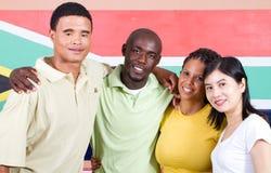 团结年轻人 免版税库存图片