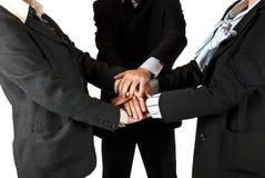 团结的企业小组 免版税图库摄影