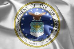 团结的空军状态 免版税库存照片