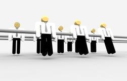 团结的立场 向量例证