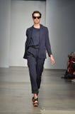 团结的竹子-纽约时装表演 库存照片