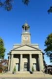 团结的第一个教区教堂,昆西,马萨诸塞 库存照片
