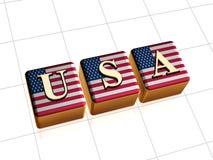 团结的美国状态 免版税库存图片