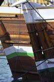 团结的阿拉伯小船小河迪拜酋长管辖区 免版税库存照片