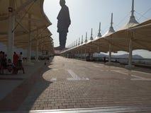 团结,印度雕象  免版税图库摄影