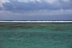 团聚的盐水湖 免版税库存图片