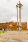 团结纪念碑在格但斯克 免版税库存图片