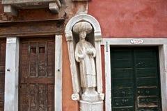 园地dei Mori,威尼斯 库存照片