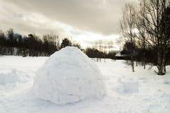 园屋顶的小屋 库存图片