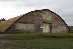 园屋顶的小屋 库存照片